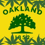 Oakland Cannabis Flag by Mickey Martin Consulting